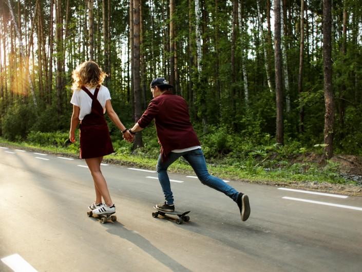 Vladlena et Roman